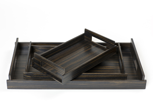 Luxury Trays in Wood