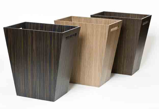 Luxury Bins in Wood